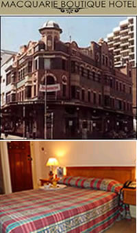 Macquarie Boutique Hotel - Accommodation Sydney