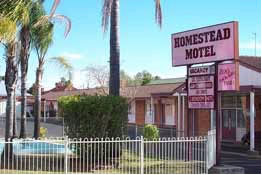 The Homestead Motor Inn - Accommodation Sydney