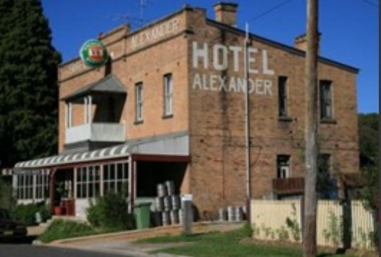 Alexander Hotel Rydal - Accommodation Sydney