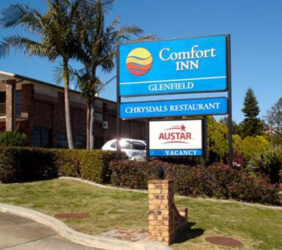 Comfort Inn Glenfield - Accommodation Sydney