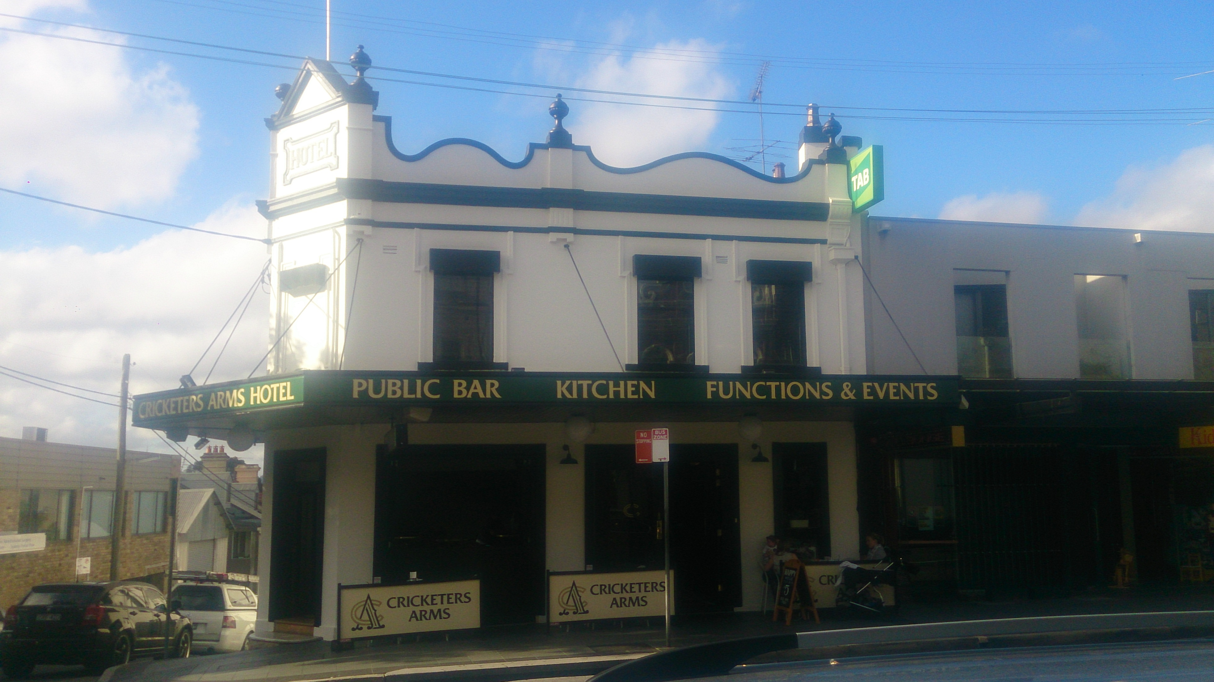 Cricketers Arms Hotel - Accommodation Sydney