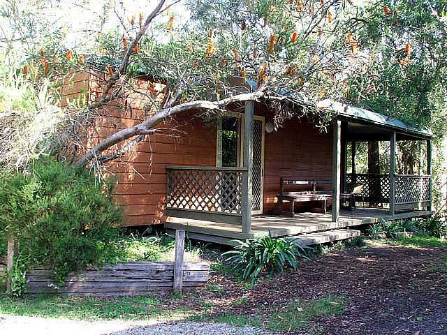 Jervis Bay Cabins  Hidden Creek Real Camping - Accommodation Sydney