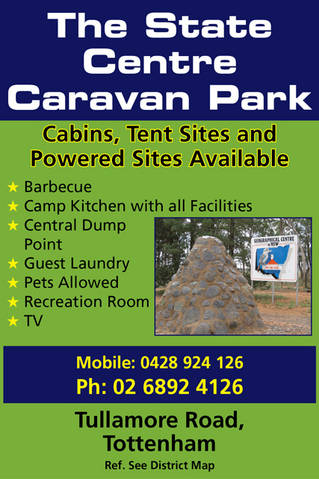 The State Centre Caravan Park - Accommodation Sydney