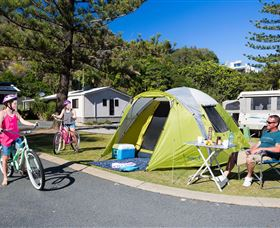 Ocean Beach Tourist Park - Accommodation Sydney