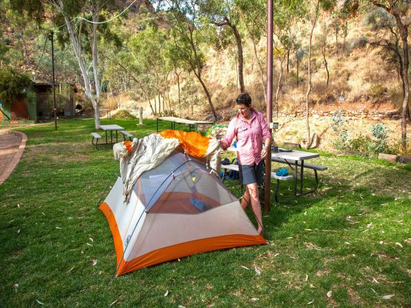 Standley Chasm Angkerle Camping - Accommodation Sydney