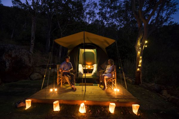 Keswick Island Camping and Glamping - Accommodation Sydney