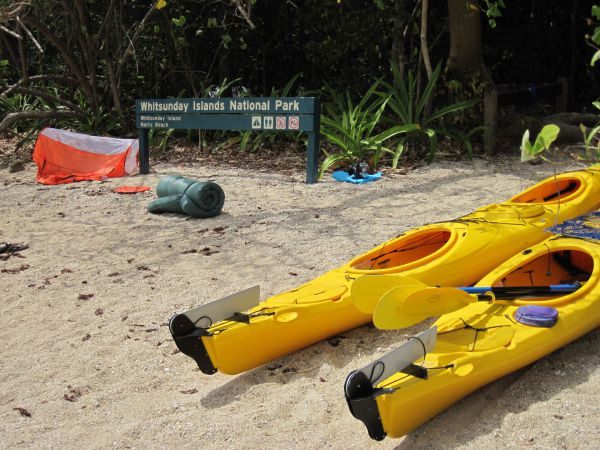 Molle Island National Park Whitsundays National Park Camping Ground - Accommodation Sydney