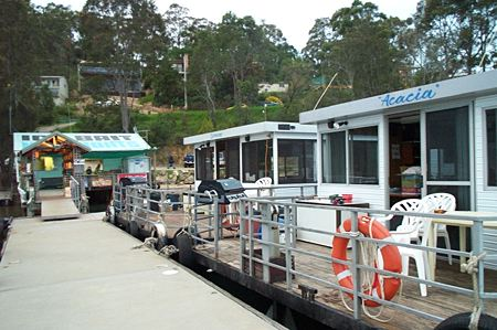 Clyde River Houseboats - Accommodation Sydney
