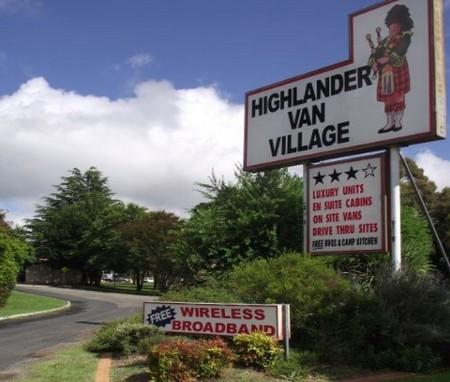 Highlander Van Village - Accommodation Sydney