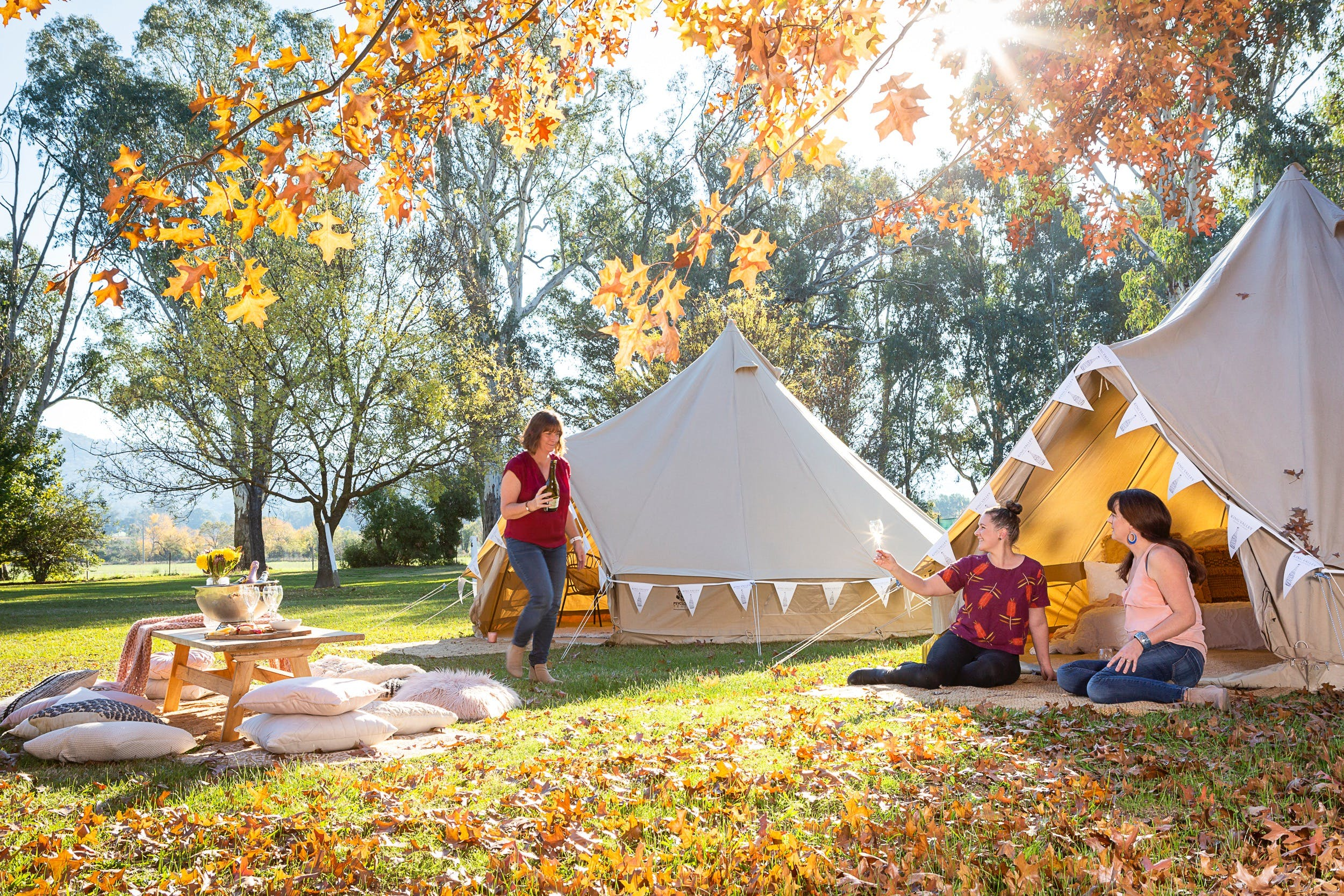 Valley View Glamping - Accommodation Sydney