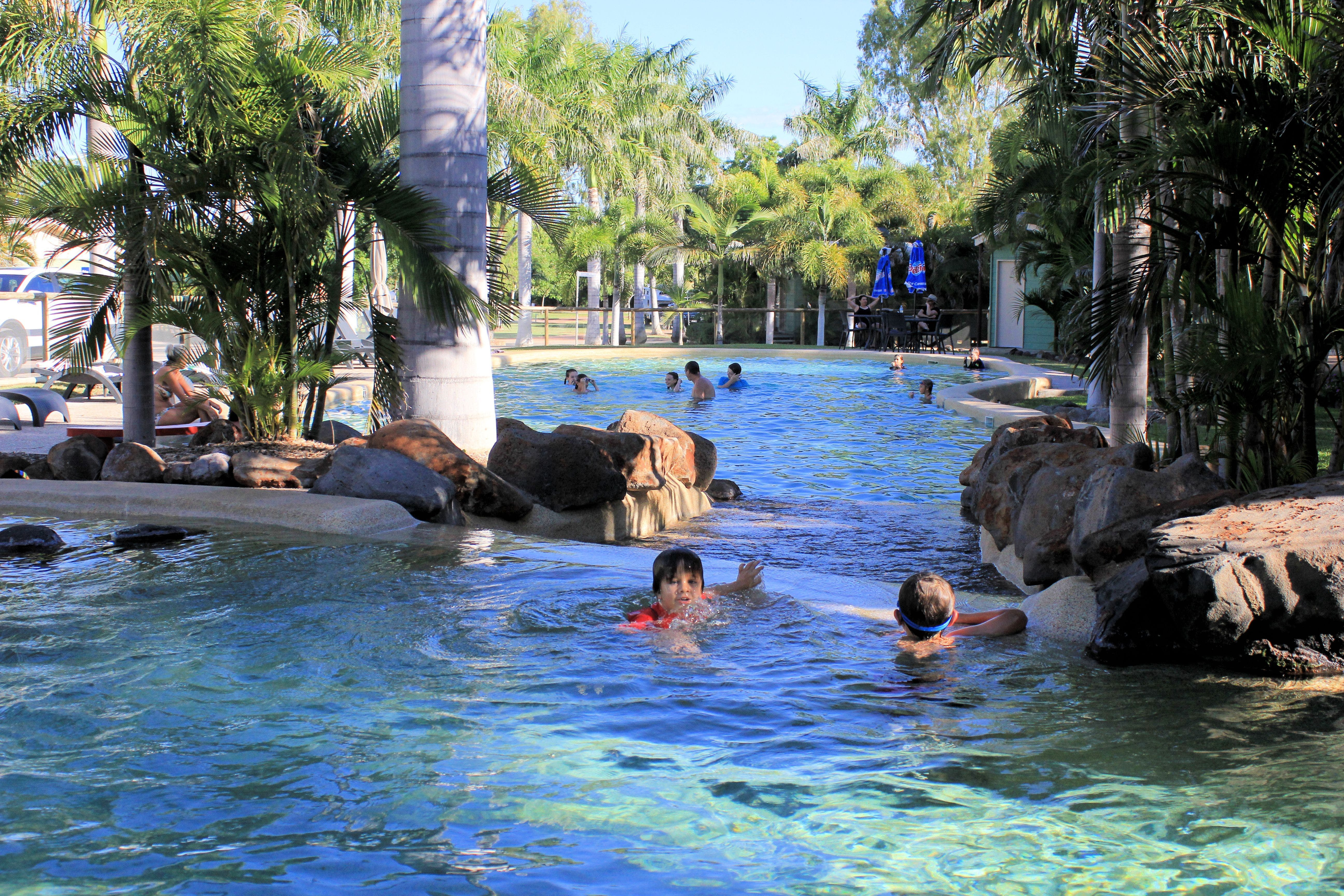 Big4 Aussie Outback Oasis Holiday Park - Accommodation Sydney