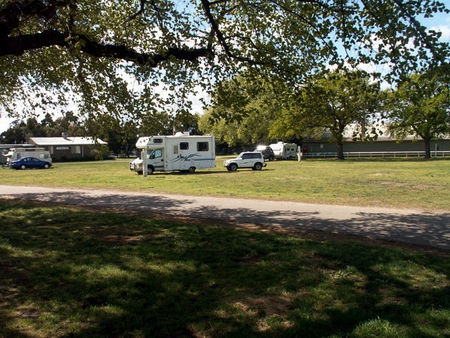 Sale Showground Caravan and Motorhome Park