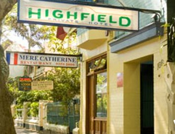 Highfield Private Hotel - Accommodation Sydney