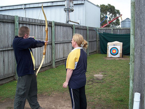 Bairnsdale Archery Mini Golf  Games Park - Accommodation Sydney
