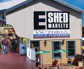 The E Shed Markets - Accommodation Sydney