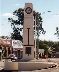 Goomeri War Memorial Clock - Accommodation Sydney