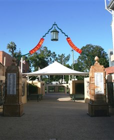 Gympie and Widgee War Memorial Gates - Accommodation Sydney