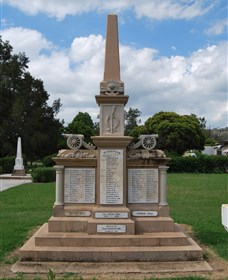 Boer War Memorial and Park Allora - Accommodation Sydney