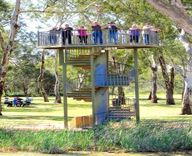Darling and Murray River Junction and Viewing Tower - Accommodation Sydney