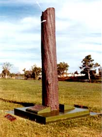 The Flood Memorial or The Stump - Accommodation Sydney