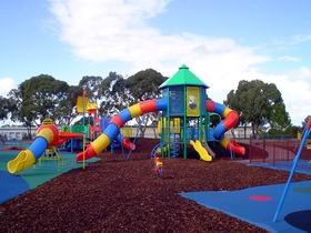Millicent Mega Playground in The Domain - Accommodation Sydney