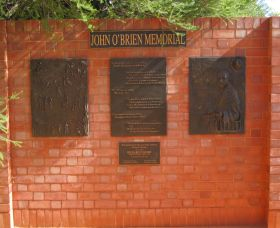 John OBrien Commemorative Wall - Accommodation Sydney