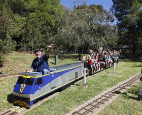 Willans Hill Miniature Railway - Accommodation Sydney