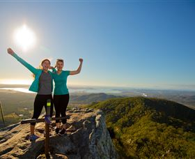 Mount Larcom Climb - Accommodation Sydney