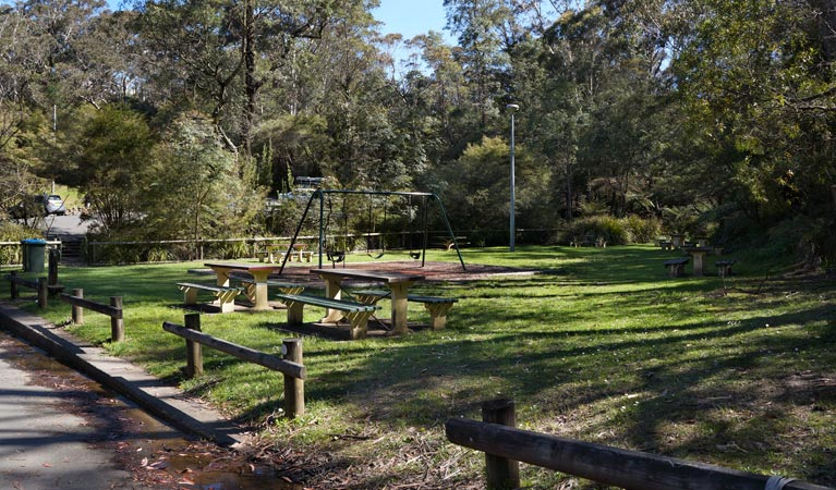 Gordon Falls lookout and picnic area - Accommodation Sydney