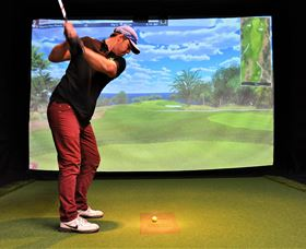 Par-Tee Virtual Golf - Accommodation Sydney