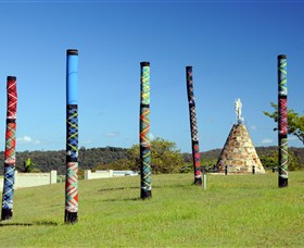 Maclean Tartan Power Poles - Accommodation Sydney