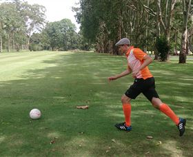 FootGolf at Teven Valley Golf Course - Accommodation Sydney