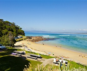 Merimbula Bar Beach - Accommodation Sydney