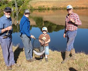 Natone Hills Fly Fishery - Accommodation Sydney