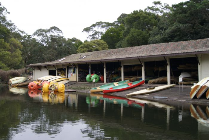 Audley Boatshed - Accommodation Sydney