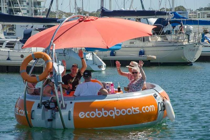 Self-Drive BBQ Boat Hire Mandurah - Group of 7 - 10 people - Accommodation Sydney