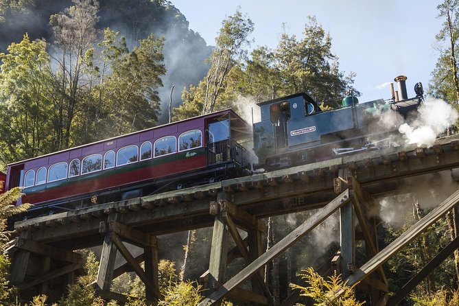 West Coast Wilderness Railway Queenstown Explorer from Strahan - Accommodation Sydney