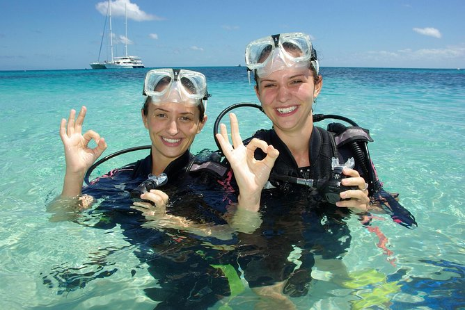 Ocean Spirit Michaelmas Cay Dive and Snorkel Cruise from Palm Cove - Accommodation Sydney