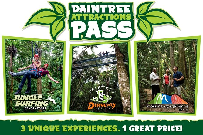 Daintree Atttractions Pass The Best of the Daintree in a Day - Accommodation Sydney