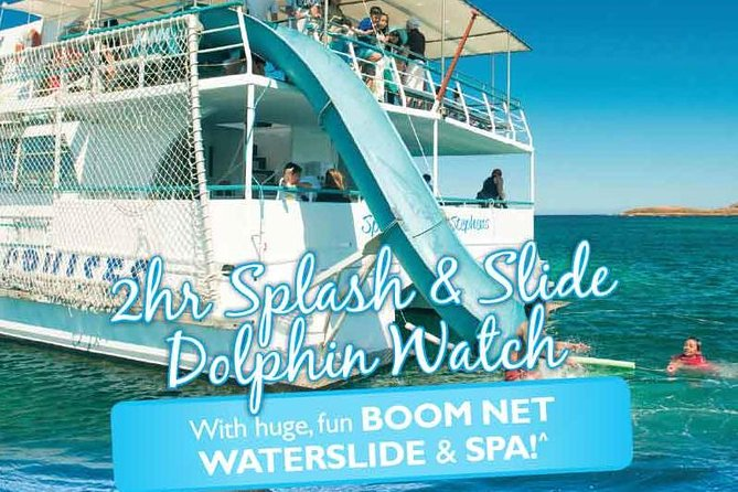 Port Stephens Dolphin Watching Cruise Including Splash and Slide