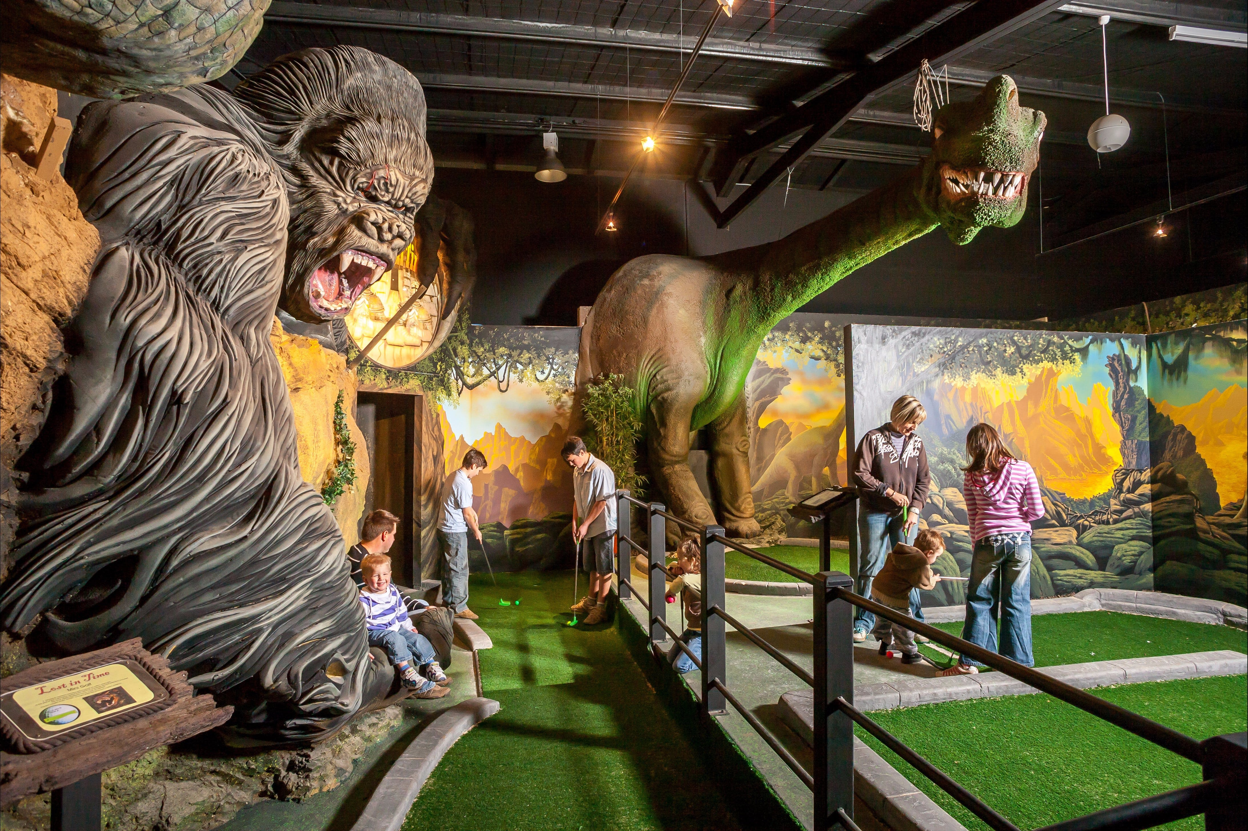 Gold Rush Mini Golf - Accommodation Sydney