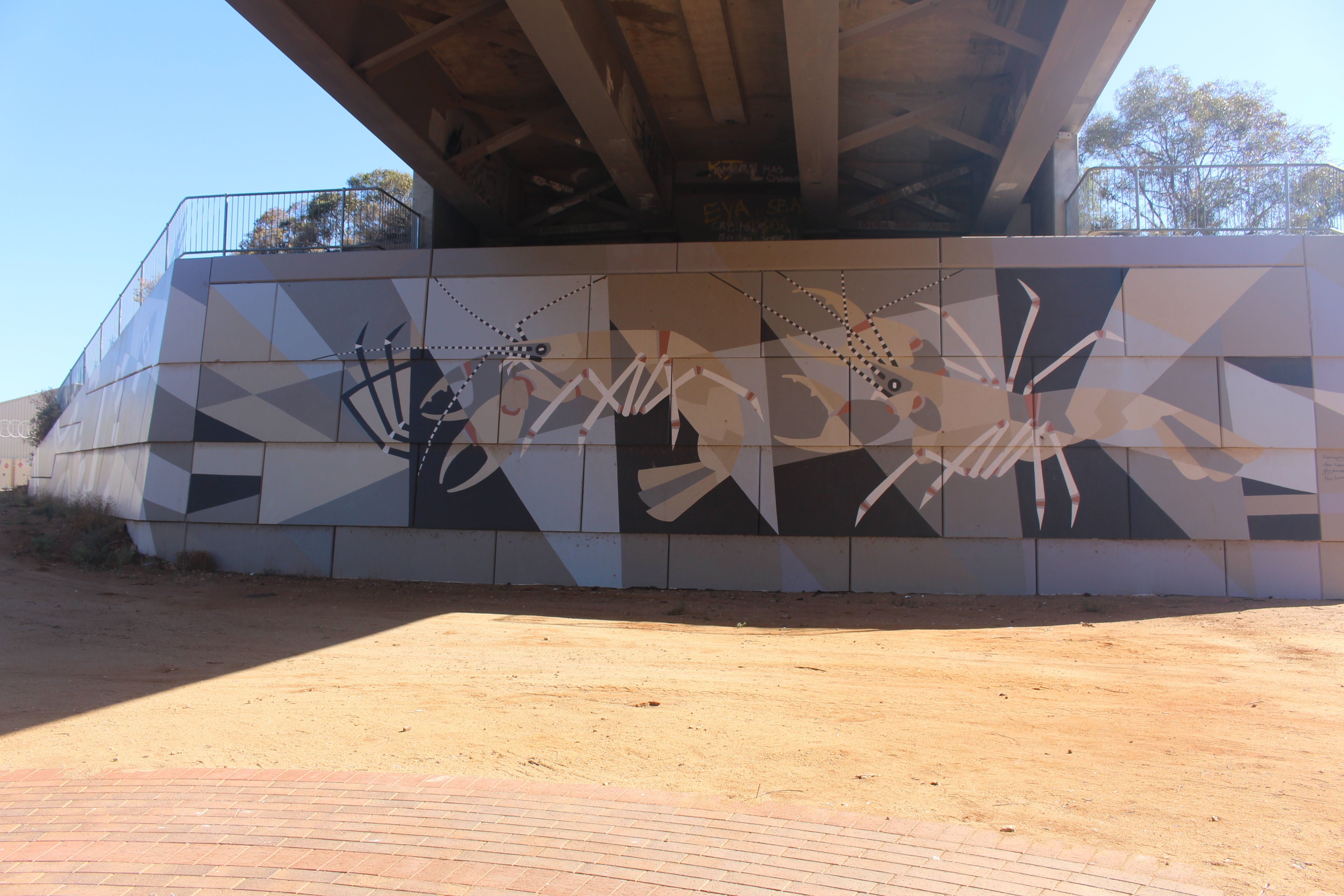 Berri Bridge Mural - Accommodation Sydney