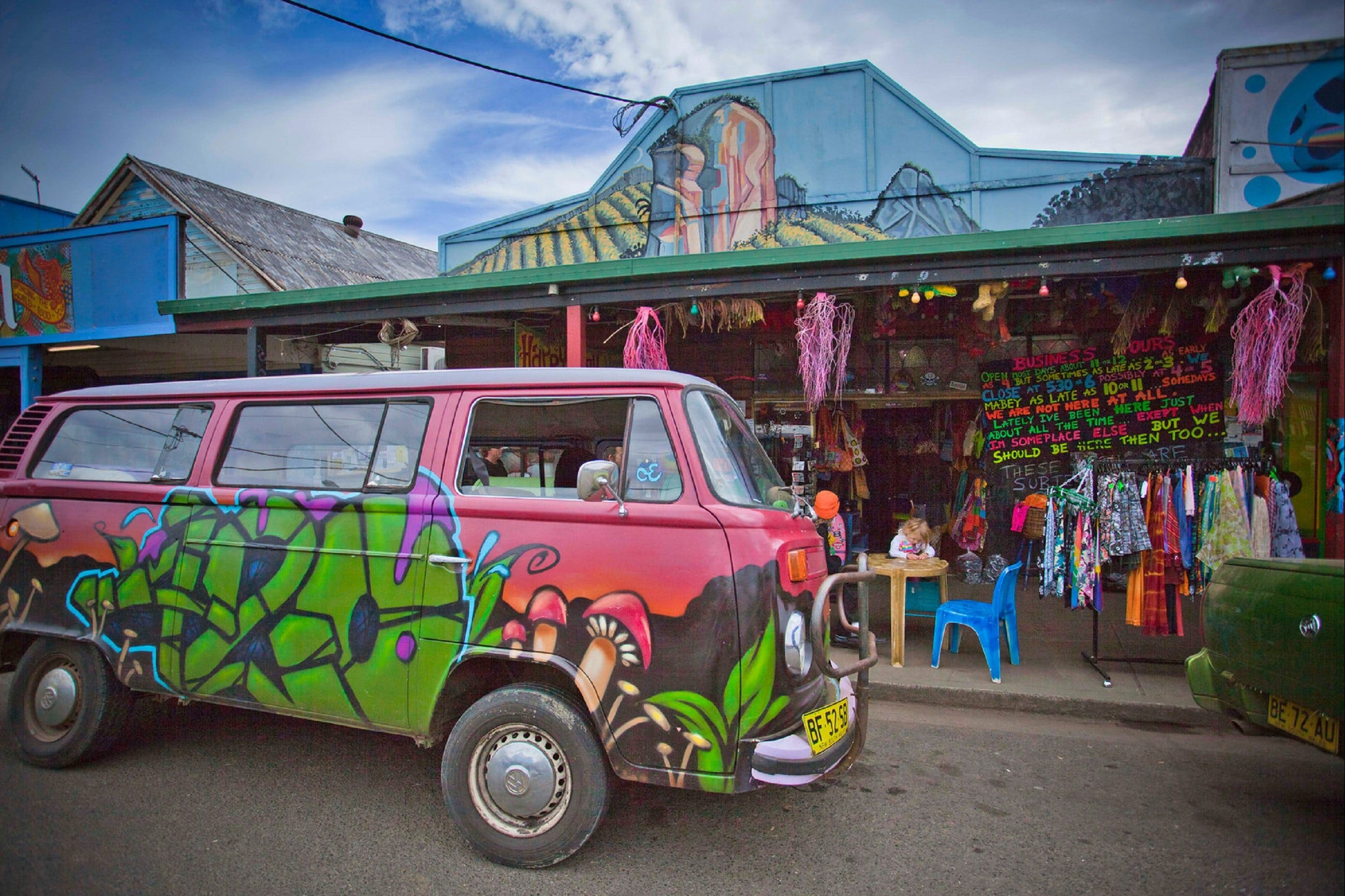 Nimbin - Accommodation Sydney