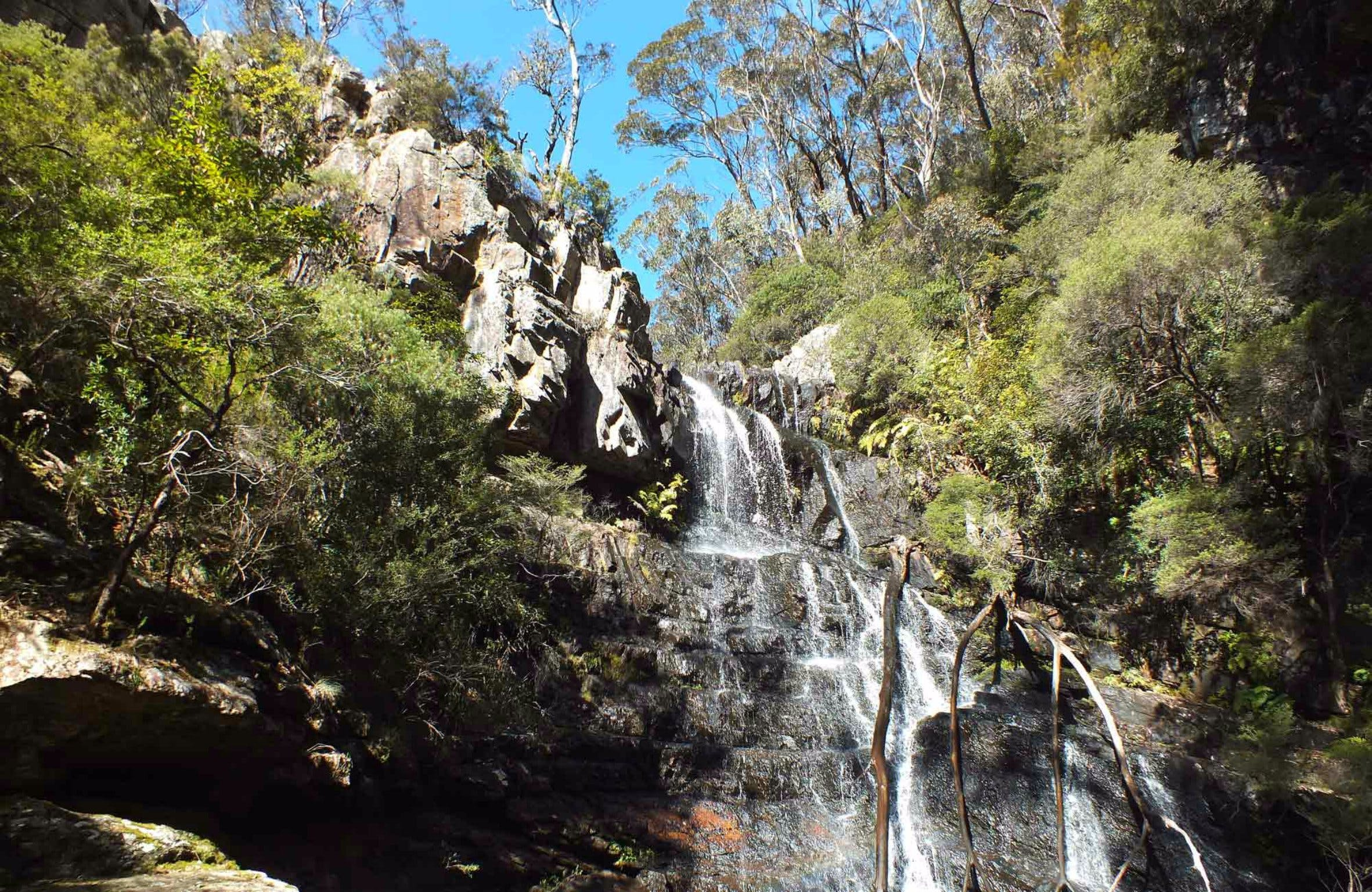 Waterfall Walk Kanangra-Boyd National Park - Accommodation Sydney