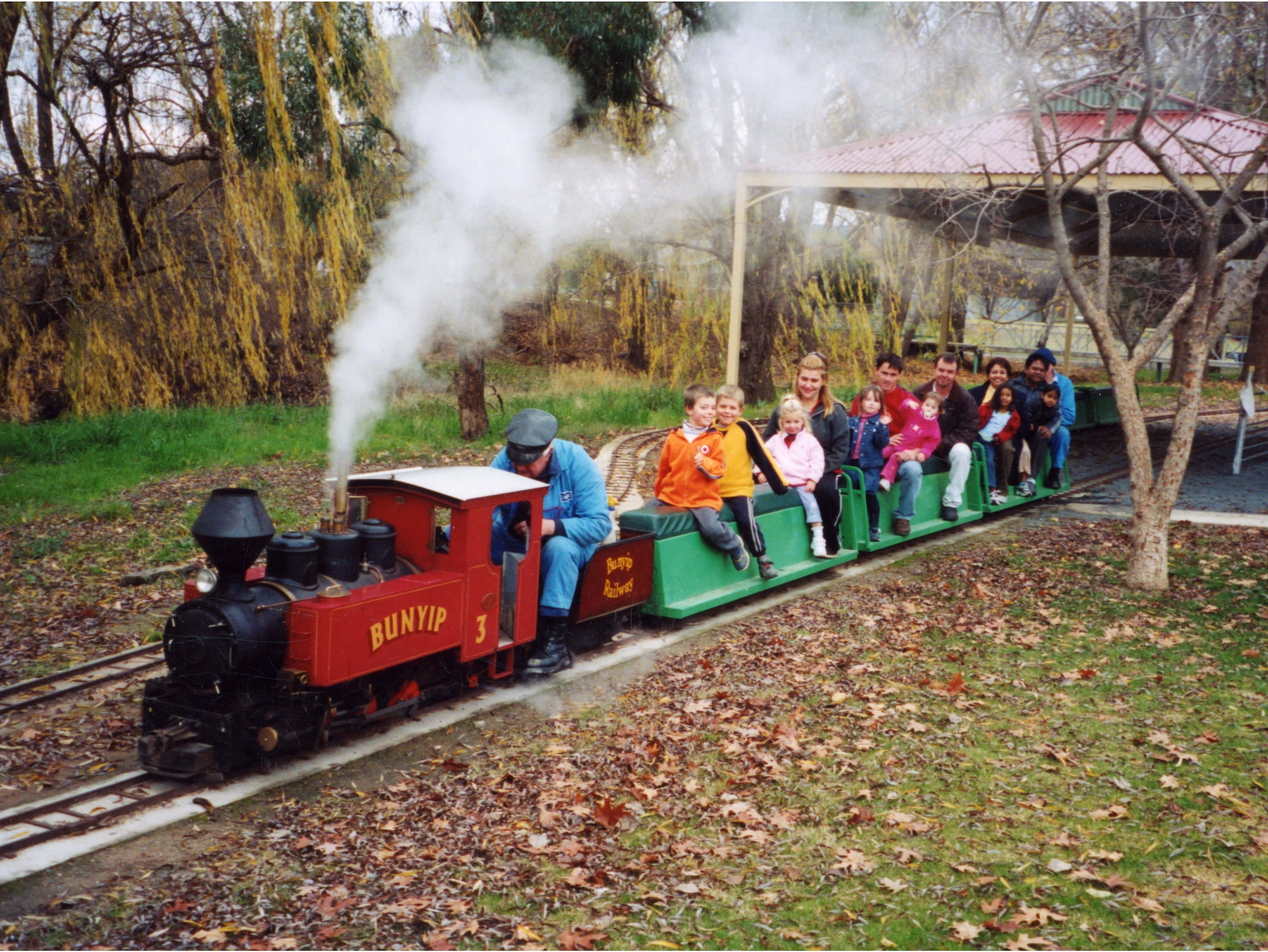 Holbrook Miniature Railway - Accommodation Sydney