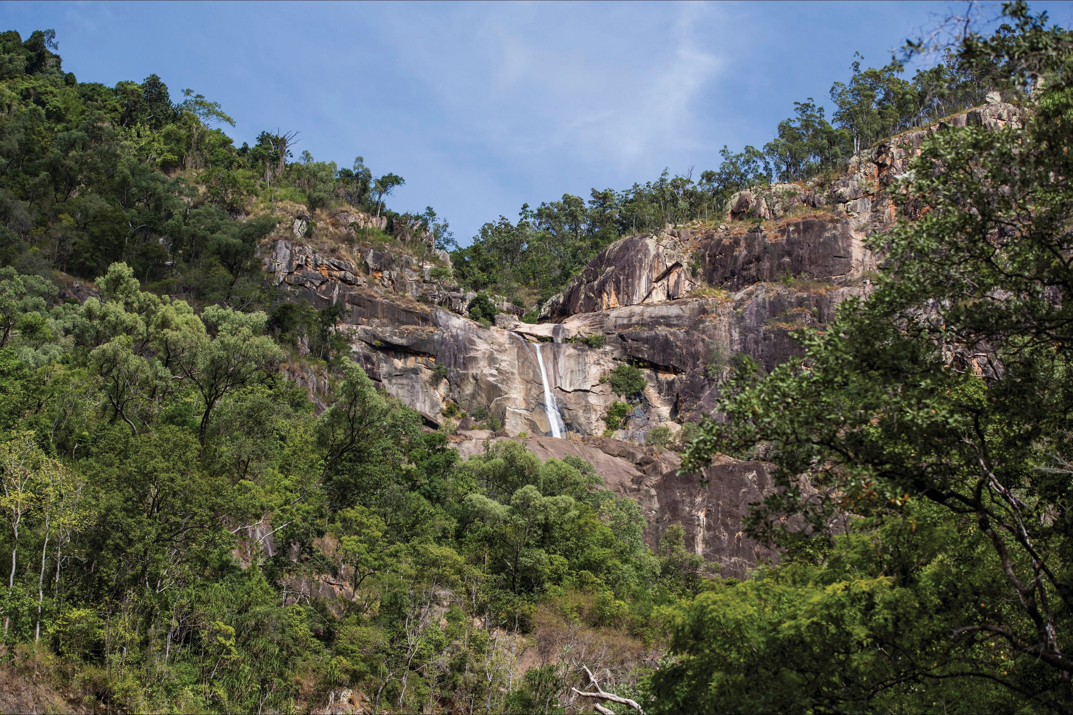 Jourama Falls Paluma Range National Park - Accommodation Sydney
