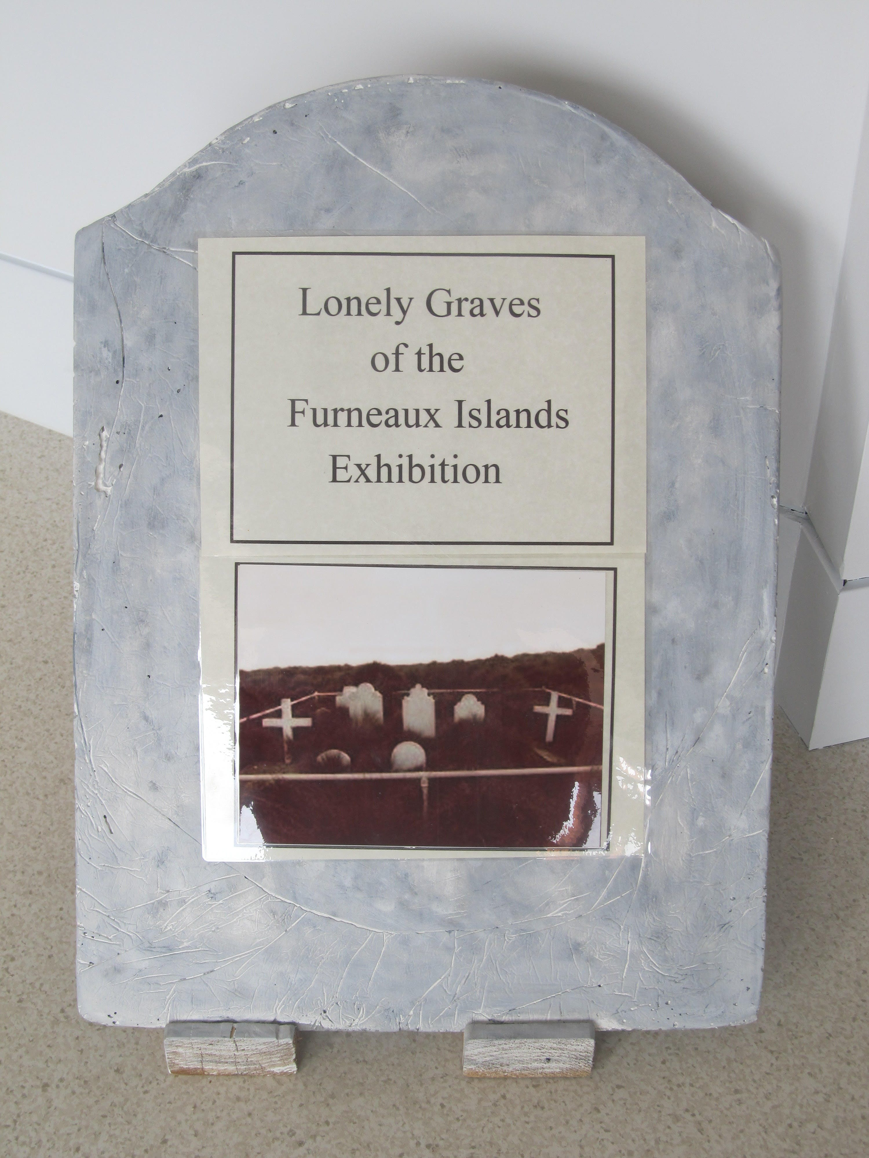 Lonely Graves of the Furneaux Islands Exhibition - Accommodation Sydney