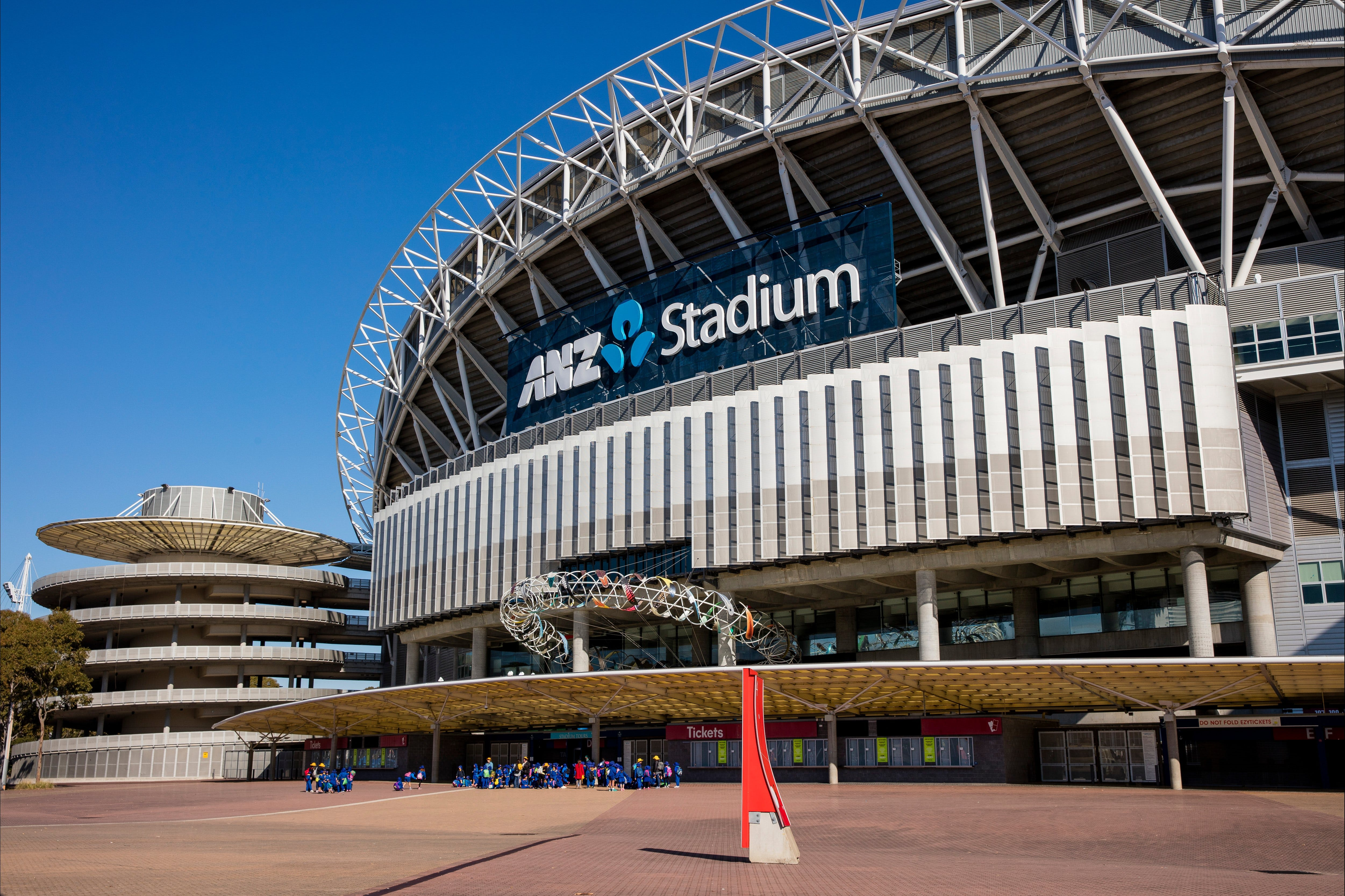 ANZ Stadium - Accommodation Sydney