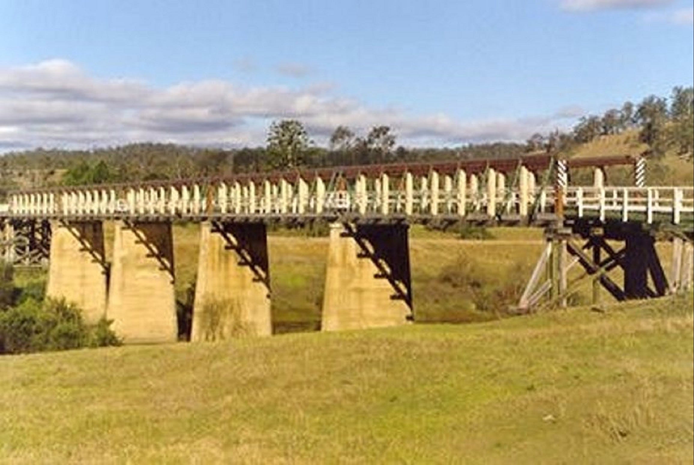 Historic Tabulam DeBurgh Timber Bridge - Accommodation Sydney