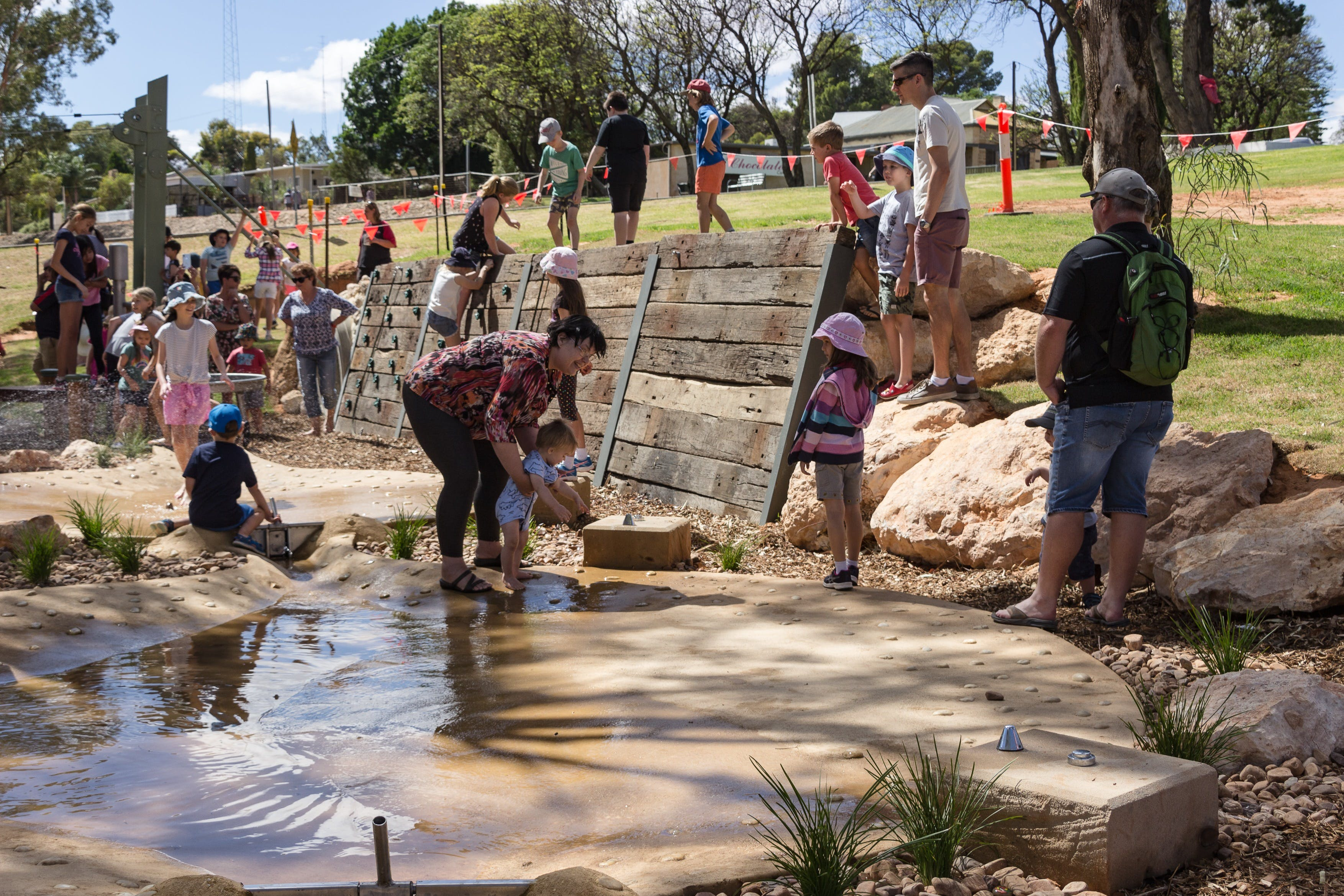 Waikerie Water and Nature Play Park - Accommodation Sydney